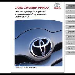 Toyota Land Cruiser Prado 120 Wiring Diagram Profibus Connector Руководство по ремонту Grj120