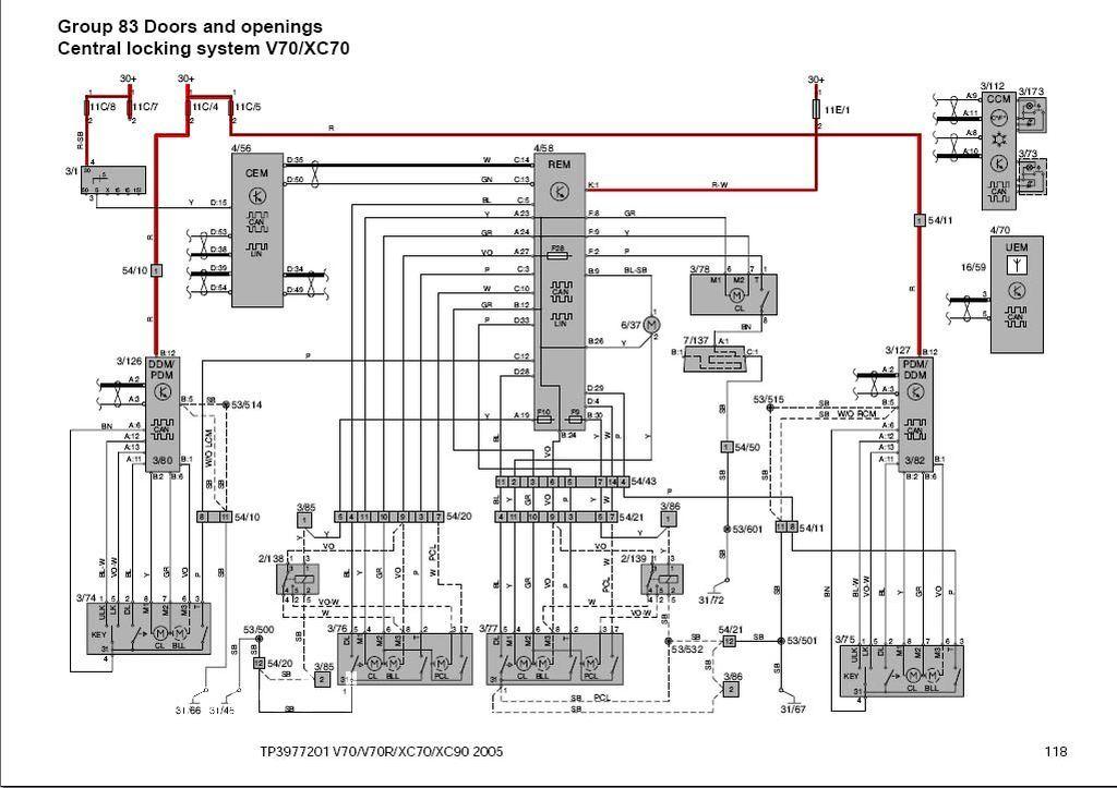 volvo xc90 headlight wiring harness