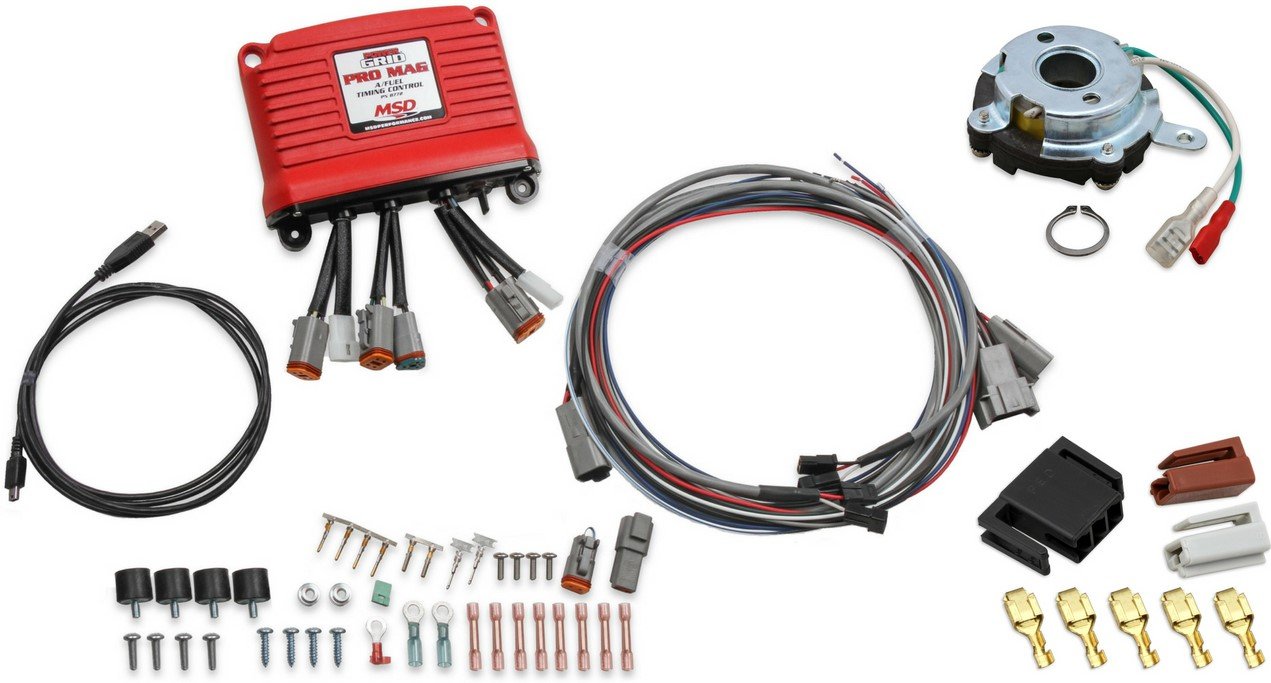 Msd Pro Mag A Fuel Power Grid Controllers Replacement Parts Engine Wiring Harness Promag