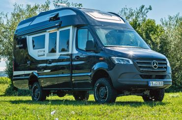 campin van in your camping checklist
