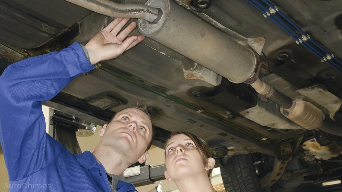 muffler repair replacement and costs