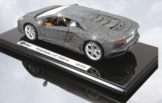 Exceptional Bburagou0027s 1:18 Lamborghini Aventador LP 700 4 Covered In 8400 Swarovski  Crystals