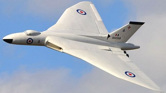 Dave Johnson's radio-controlled Vulcan bomber