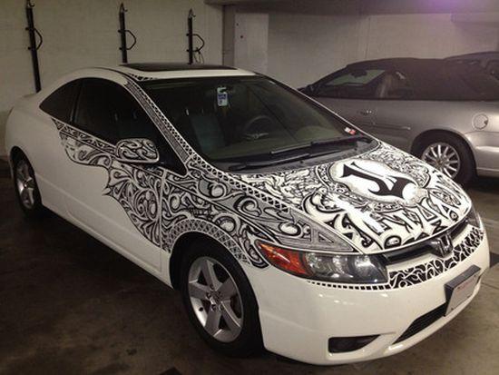 LiHai's Honda Civic sharpie car 3