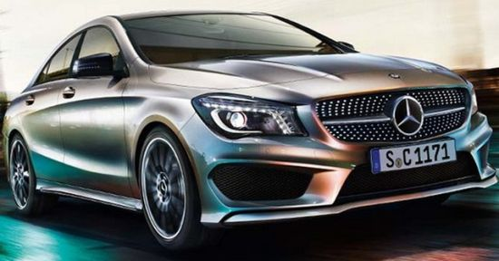 Mercedes-Benz CLA, the baby CLS 1