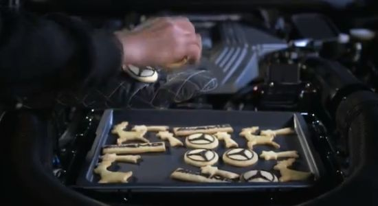 Mercedes-Benz SLS AMG  world's most expensive cookie oven 3