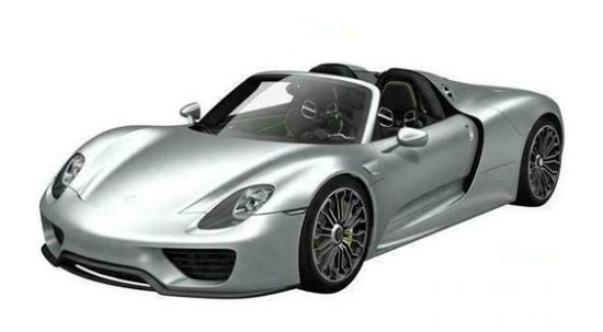 Porsche 918 Spyder leaks in China