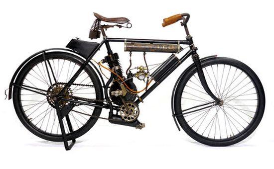 1902 Rambler Model B from the Indian Motorcycle Museum