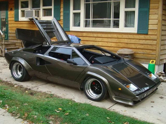Bull In The Basement Homemade Lamborghini Countach Hits Ebay Auto