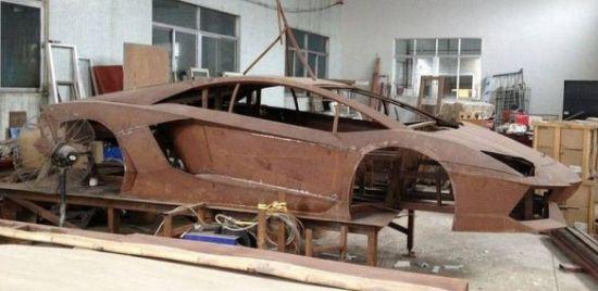 Steel Framed Cars : Chinese steel framed lamborghini aventador replica matches
