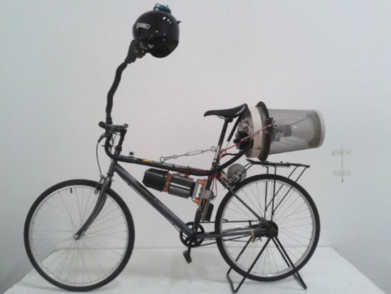 Matt Hope's  Breathing bike