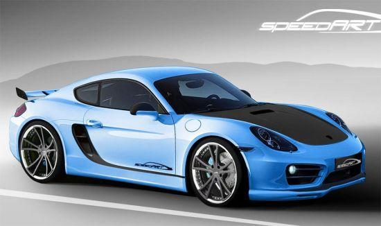 SpeedART Porsche Cayman