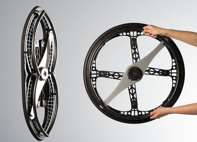 Vitamins studio's folding wheel 3