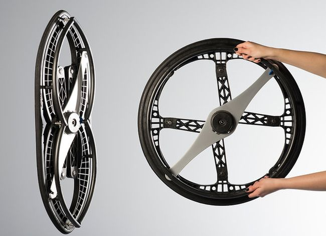 Vitamins studio's folding wheel 3