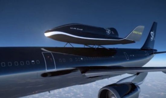 Swiss Space Shuttle to launch from the top of an Airbus A300 Jet