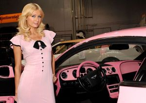 West Coast Customs Presents Paris Hilton with Custom Pink Bentley