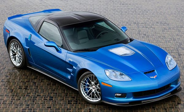 2009 Chevrolet Corvette ZR1. X09CH_CR083