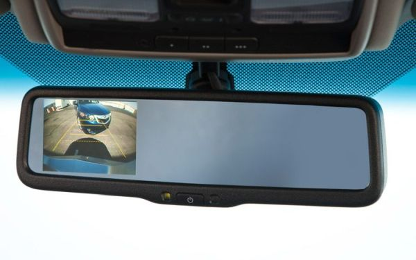 Rear-view backup intervention system