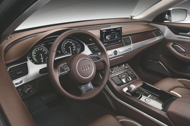 Audi 8 luxury sedan