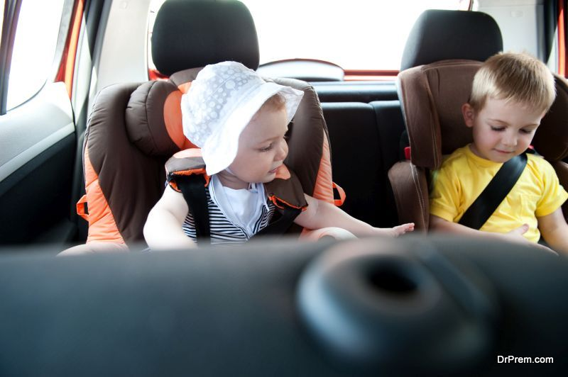 kid proofing your car
