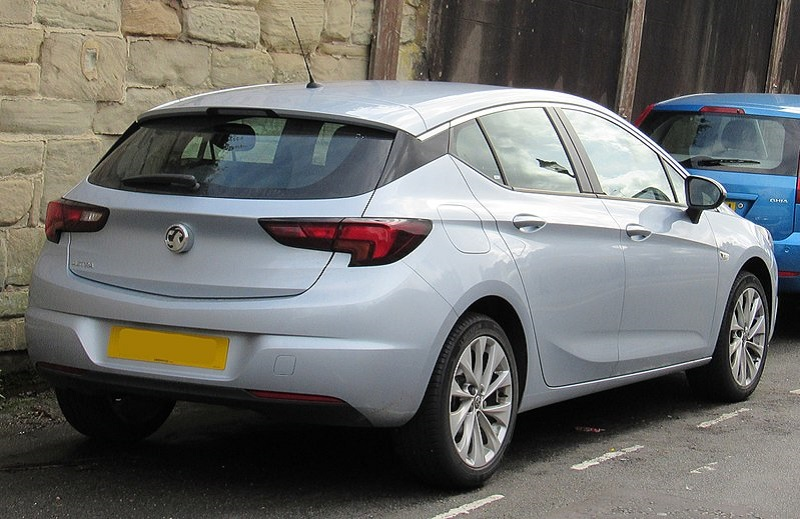 Vauxhall Astra Design Rear