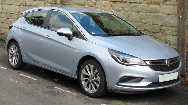 Vauxhall Astra Seventh Generation