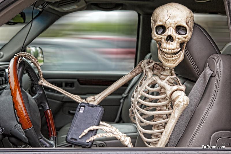 Drive Safe On Halloween