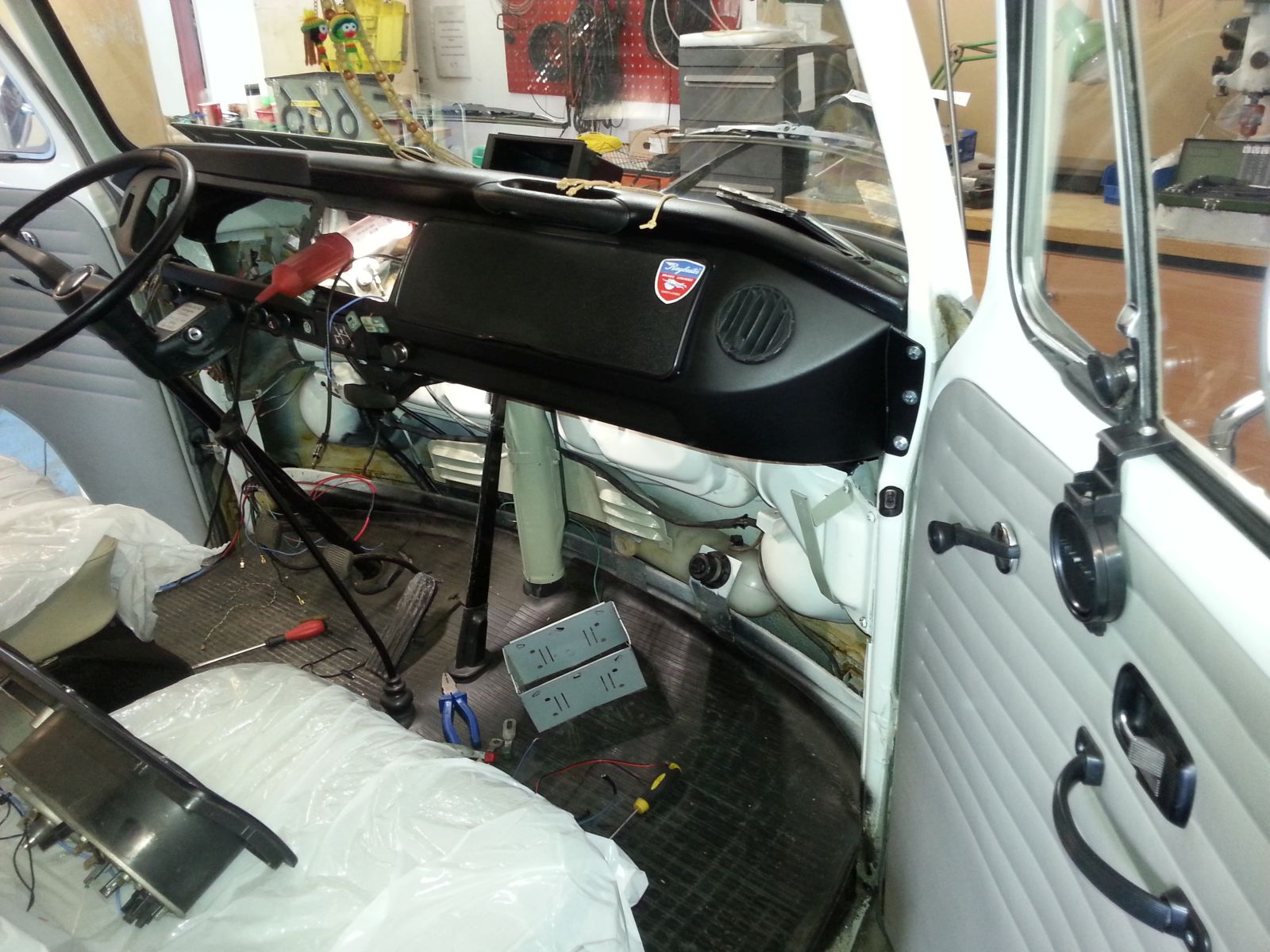 hight resolution of vw t2 reconstruction partial replacement of the installation