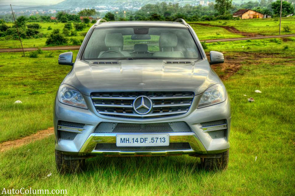 2013 ML 350 CDI front