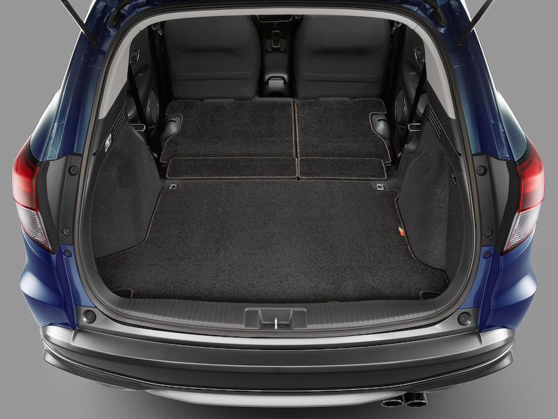 Honda Vezel Mugen boot space
