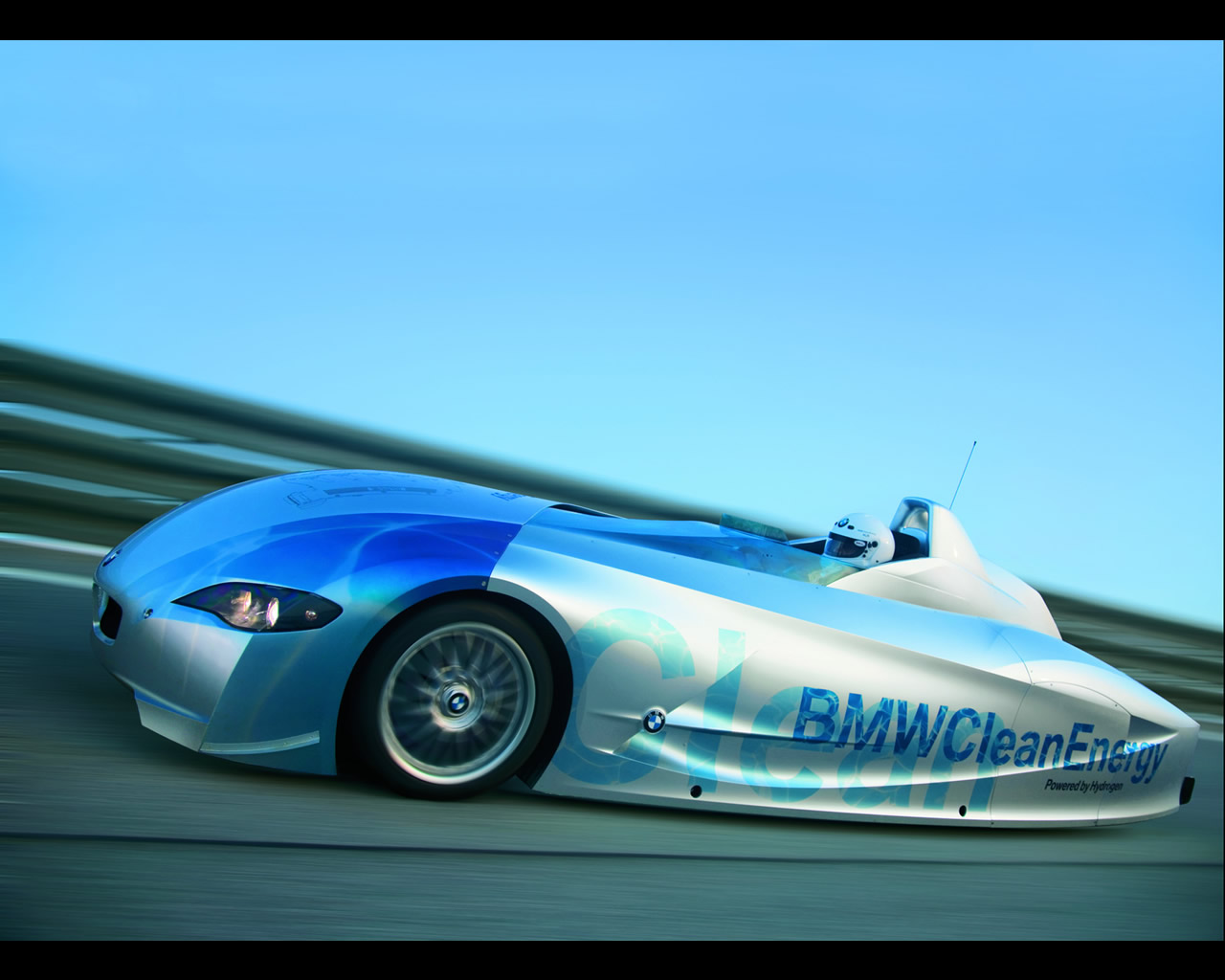 Bmw H2r Hydrogen Record Car 2004