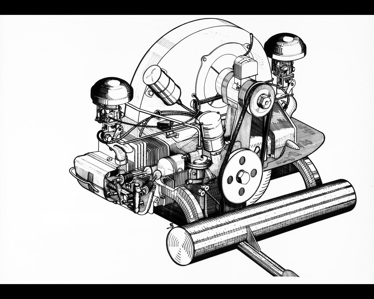 Vw Engine Drawings