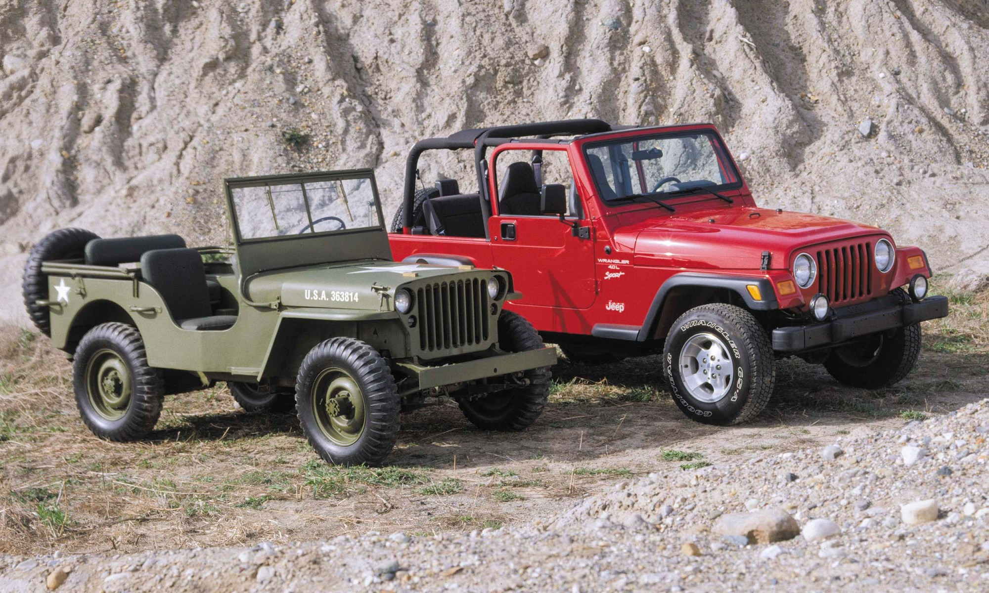 hight resolution of jeep a brief history