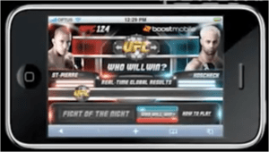 UFC Live Audience Polling