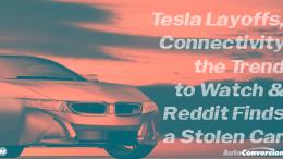tesla layoffs, connectivity, trend