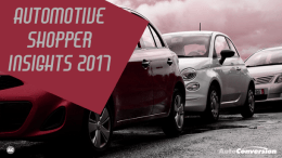automotive shopping insights