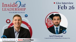 Robb Holman Interviews Aref Dostyar on the Inside Out Leadership Podcast
