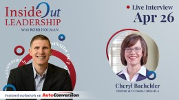 Robb Holman Inside Out Leadership Interview w/ Cheryl Bachelder