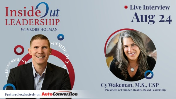 Cy Wakeman on the Inside Out Leadership Show and Podcast w/ Robb Holman