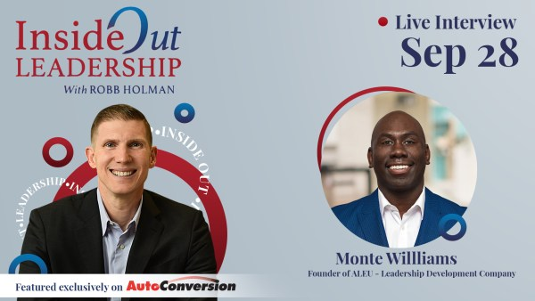 Monte Williams on the Inside Out Leadership Show and Podcast w/ Robb Holman