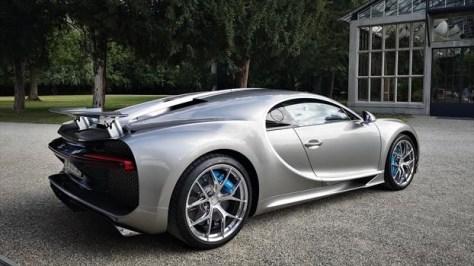Bugatti Chiron Sport - trasera