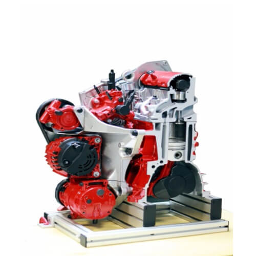 Diesel Engine Cutaway Model