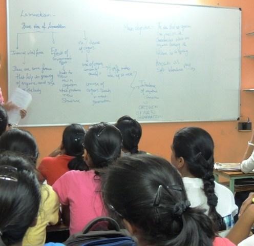 X Std student giving her presentation (4)