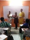 1st rank Mitanshi Bhanushali (8th std)