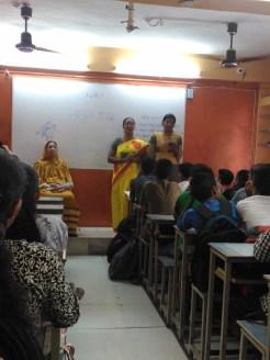 Sanskrit Teacher Miss Rupa Gupta & Maya Deshmukh orgnized Sanskrit Day