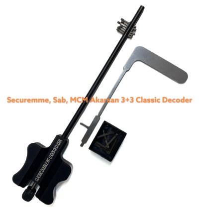 Securemme Sab Akarsan 3+3 classic decoder
