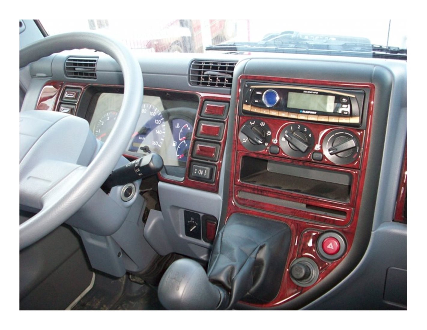 Fiat Tempra 01.91-05.95 3M 3D Interior Dashboard Trim Kit