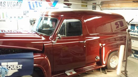 '53 Ford Panel Truck Restoration