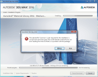 Fail to install 3DS Max 2016 Trail version - Autodesk ...