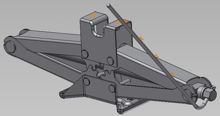 Solved: Scissor Jack Assembly Design 3